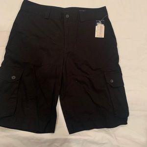 Polo black shorts